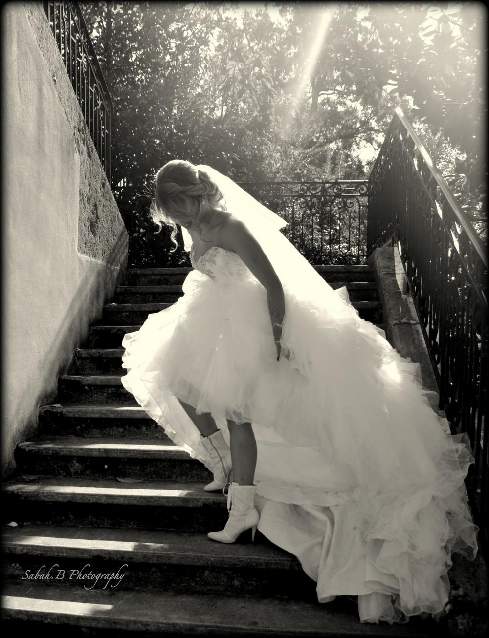 Photographe robe de mariée : SABAH.B