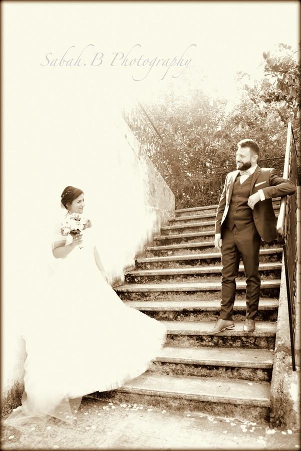 Photographe de mariage Cliché couple noir & blanc