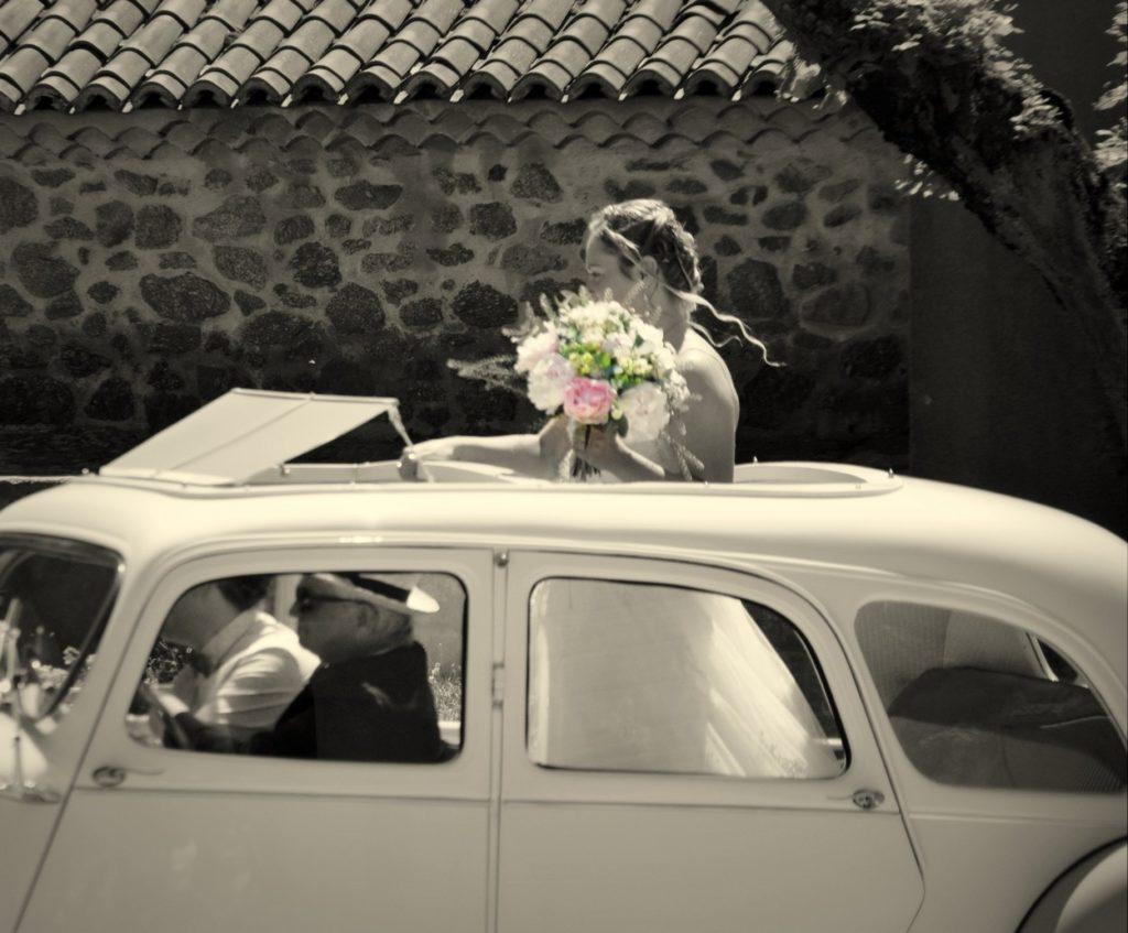 Mariage en voiture : SABAH.B